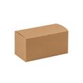 "9"" x 4 1/2"" x 4 1/2"" Kraft  Gift Boxes 100/Case"