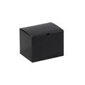 "6"" x 4 1/2"" x 4 1/2"" Black Gloss  Gift Boxes 100/Case"
