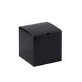 "6"" x 6"" x 6"" Black Gloss  Gift Boxes 100/Case"