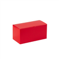 "12"" x 6"" x 6"" Holiday Red  Gift Boxes 50/Case"