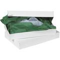 """24"""" x 14"""" x 4"""" White  Apparel Boxes 25/Case"""