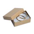 """3 1/16"""" x 2 1/8"""" x 1"""" Kraft  Jewelry Boxes 100/Case"""