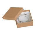 "3 1/2"" x 3 1/2"" x 1 1/2"" Kraft  Jewelry Boxes 100/Case"