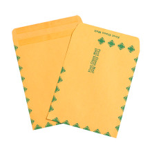 Kraft Redi-Seal First Class Envelopes Fold Flap, Press Down, and Mail. No Moisture Needed to Seal.