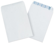 Self-Seal Paper Stock White Business Envelopes.