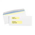 Double Window White Gummed Business Envelopes with Security Tint.