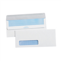 #10 Window White Redi-Seal Business Envelopes with Security Tint.