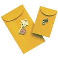 Kraft Coin Size Gummed Envelopes