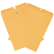 Kraft Clasp Envelopes