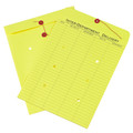 Yellow Inter-Department String and Button Envelopes