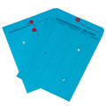 Blue Inter-Department String and Button Envelopes