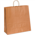 Heavy Duty Kraft Paper Shopping Bags with Twisted Paper Handles