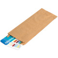 Kraft Gusseted Kraft Brown Paper Merchandise Bags