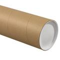 Kraft Jumbo Mailing Storage Tubes