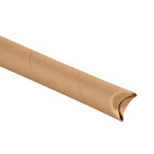 Kraft Crimped End Mailing Storage Tubes