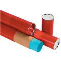 Red  Premium Telescoping Tubes Mailing Storage Tubes