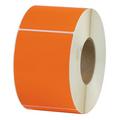 Orange  Thermal Transfer Labels