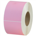 Pink  Thermal Transfer Labels