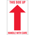 """""""This Side Up - Handle With Care""""  Arrow Shipping and Handling Labels"""