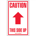 """""""Caution - This Side Up"""" Arrow Shipping and Handling Labels"""