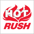 """""""Hot Rush"""" Shipping and Handling Labels"""
