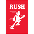 """""""Rush"""" Shipping and Handling Labels"""