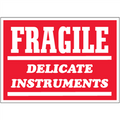 """Fragile - Delicate Instruments""  Shipping and Handling Labels"