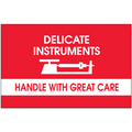 """""""Delicate Instruments - HWGC"""" Shipping and Handling Labels"""