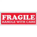 """Fragile  - Handle With Care"" Shipping and Handling Labels"