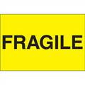 """""""Fragile"""" (Fluorescent Yellow) Shipping and Handling Labels"""