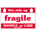 """""""Fragile - This Side Up - Handle With Care"""" Shipping and Handling Labels"""