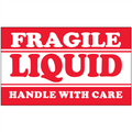 """Fragile - Liquid - Handle With Care"" Shipping and Handling Labels"