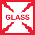 """Glass"" Shipping and Handling Labels"