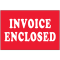 """Invoice Enclosed"" Shipping and Handling Labels"