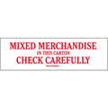 """""""Mixed Merchandise"""" Shipping and Handling Labels"""