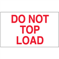 """""""Do Not Top Load"""" Shipping and Handling Labels"""