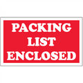 """Packing List Enclosed"" Shipping and Handling Labels"