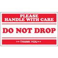 """Do Not Drop - Please Handle With Care"" Shipping and Handling Labels"