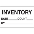 """Inventory - Date - Count - By"" Production Labels"