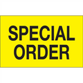 """""""Special Order"""" (Fluorescent Yellow) Production Labels"""