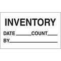 """""""Inventory - Date - Count - By"""" Production Labels"""