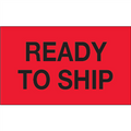 """Ready To Ship"" (Fluorescent Red) Production Labels"