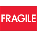 """Fragile"" (High Gloss) Shipping Labels"