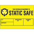 """Static Safe"" Anti-Static Labels"
