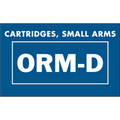 """Cartridges, Small Arms  ORM-D"" Labels"