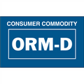 """Consumer Commodity  ORM-D"" Labels"