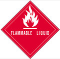 """Flammable Liquid"" Subsidiary Risk Labels"
