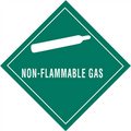 """Non-Flammable Gas"" Subsidiary Risk Labels"
