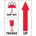 """""""Keep Dry Fragile"""" International Safe-Handling Labels"""