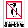 """""""Do Not Freeze or Refrigerate"""" International Safe-Handling Labels"""